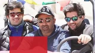 सनी पाजी पहली बार दोनों बेटों के साथ दिखे - AAJTAKTV