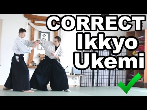 Aikido How To: Do Good Ikkyo Ukemi