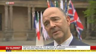 """""""The UK Must Remain In The EU"""" Says EU Economic Commissioner - SKYNEWS"""