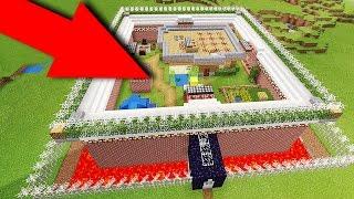Майнкрафт ПЕ САМЫЙ БЕЗОПАСНЫЙ ДОМ на 100% МЕХАНИЧЕСКИЙ ДОМ для Minecraft PE
