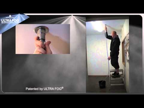 Test tool - How to test an automatic sprinkler nozzle   ULTRA FOG