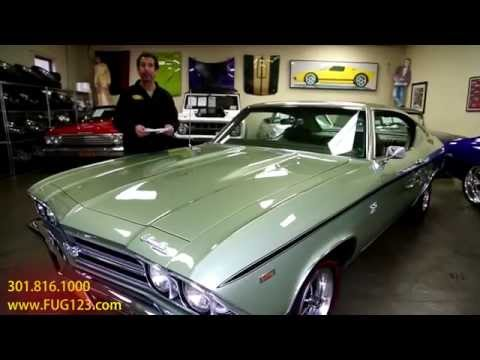 1969 Chevrolet Chevelle SS396 FOR SALE flemings ultimate garage