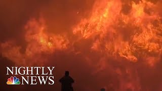 Southern California wildfires leave 800 structures in ashes | NBC Nightly News - NBCNEWS