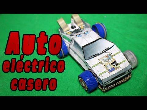 Fabrica tu propio auto eléctrico casero