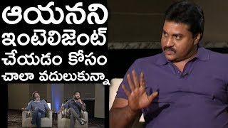 Sunil About Trivikram | Aravinda Sametha Movie Team Funny Interview | TFPC - TFPC