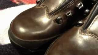ヌバック 登山靴 手入れ WAX仕上げ3回塗り加工 LOWA TAHOE
