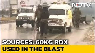 60 Kg RDX Used In Pulwama Terror Attack, A Body Was Flung 80 Metres Away - NDTV