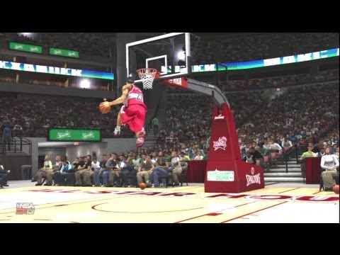NBA 2K13 Dunk Contest: My Player vs LeBron