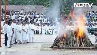 राजकीय सम्मान के साथ पंचतत्व में विलीन हुए अटल बिहारी वाजपेयी - NDTVINDIA