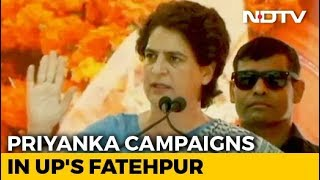 "BJP Government Thinks It's Doing Public A ""Favour"": Priyanka Gandhi Vadra - NDTV"