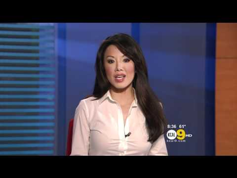 Sharon Tay 2012/05/18 KCAL9 HD; White shirt