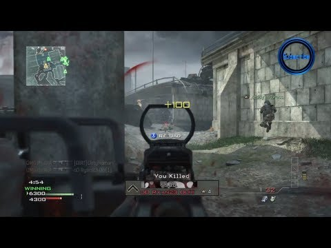 """Modern Warfare 3"" Multiplayer Gameplay - 1st Game LIVE Commentary (Call of Duty MW3 Online)"