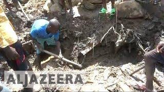 DR Congo landslide kills at least 200 - ALJAZEERAENGLISH