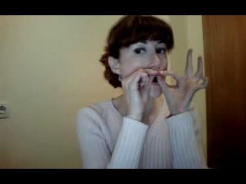 GIMNASIA FACIAL - Aumentar el volumen de los labios y fortalecer la zona alrededor de la boca