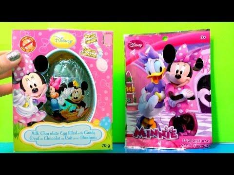 Huge Disney Minnie Mouse Chocolate Egg Surprise & Surprise bag Minnie Mouse Bowtique