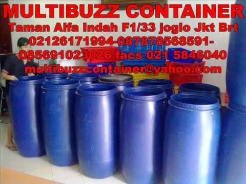 Tong Simpanan Air Tong Air Biru Container