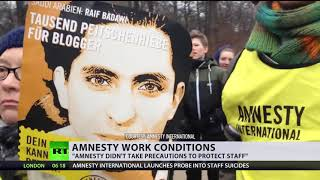 'Amnesty int'l takes no precautions to protect workers' – Ex-researcher on staff suicides - RUSSIATODAY