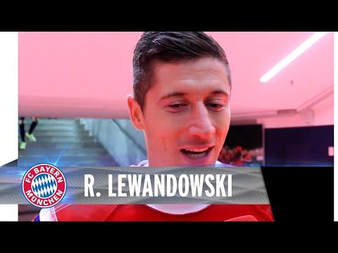 Robert Lewandowski im Blitz-Interview nach dem Sieg