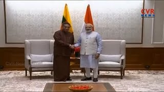 PM Modi meets members of Sri Lankan Parliament | CVR NEWS - CVRNEWSOFFICIAL