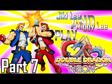 Double Dragon Neon - Jiki and Miggy Lee Part 07: The Healing Touch | Too Much Gaming