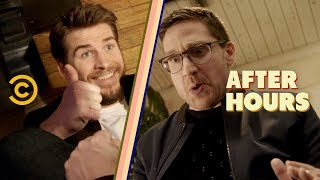 Liam Hemsworth Isn't Helping on This Date - After Hours with Josh Horowitz - COMEDYCENTRAL