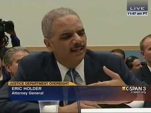 Darrel Issa, Eric Holder, Sheila JacksonLee Battle Over Justice Dept. Burying A Case