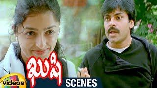 Pawan Kalyan Sacrifices Smoking for Bhumika | Kushi Telugu Movie Scenes | Ali | Mango Videos - MANGOVIDEOS