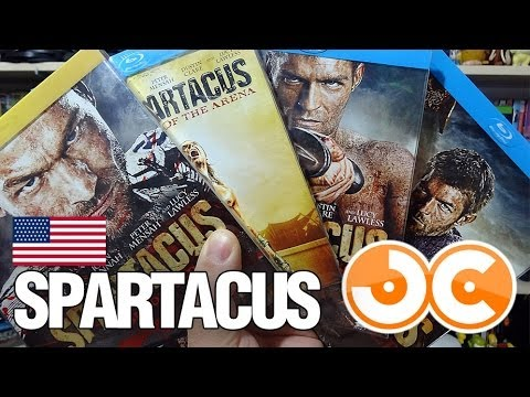 [BLU-RAY] SPARTACUS (USA)