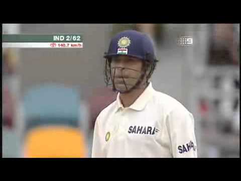 Sachin tendulkar out lbw.bad decision.bucknor.