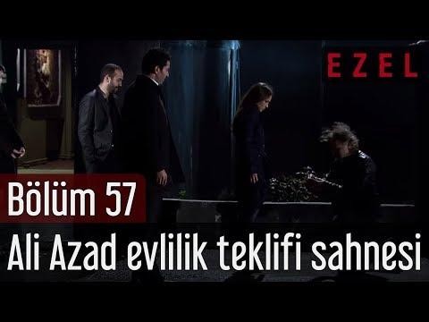 Ezel - Ezel 57.Bölüm Ali Azad Evlilik Teklifi Sahnesi