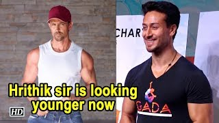 Tiger says Hrithik sir is looking younger now, better than 'Kaho Na..' - IANSINDIA