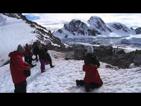 Hiking Antarctica: On Top of the Bottom of the World