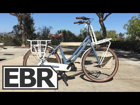 Gazelle NL C7 HMB Video Review - Beautiful, Well Made, Cruiser Electric Bike