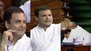 Rahul Gandhi's Jaddu Ki Jhappi to PM Modi goes viral, was it appropriate? - NEWSXLIVE