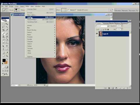 Maquiagem Digital: Aula de Photoshop  1 de 2 | Diego Zanini