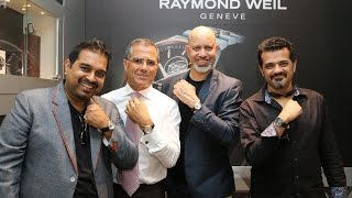 Shankar, Ehsaan And Loy Felicitated With Raymond Weil - THECINECURRY