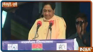 मैनपुरी में Mayawati ने कहा, Modi की तरह नकली और फर्जी पिछड़े नहीं हैं Mulayam Singh yadav - INDIATV