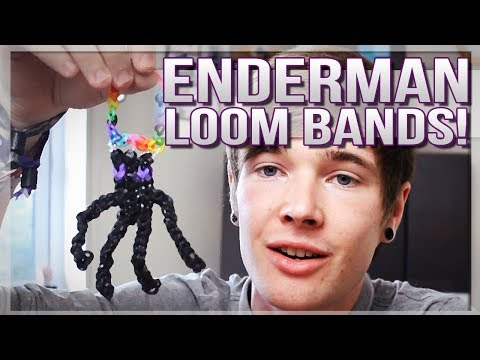 ENDERMAN LOOM BANDS! | TDM Vlogs [TeamTDM Presents]
