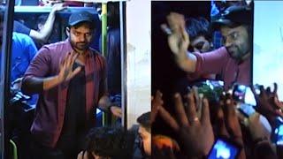 Prati Roju Pandage Movie Team Bus Tour Eluru | Sai Dharam Tej | Raashi Khanna - TFPC