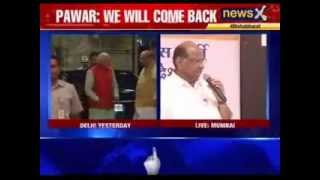 Sharad Pawar battle to stay in race - NEWSXLIVE