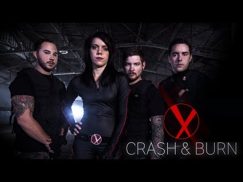 Darling Parade - Crash & Burn (OFFICIAL ACTION MUSIC VIDEO)