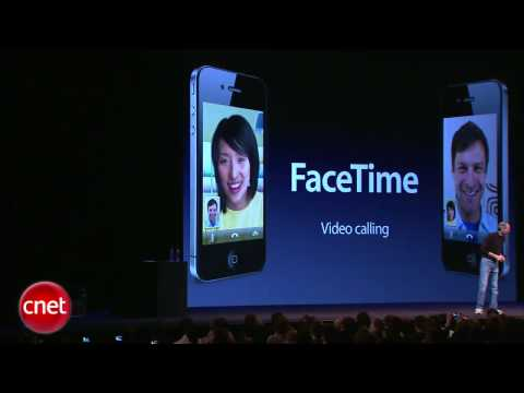 iPhone 4 video calling