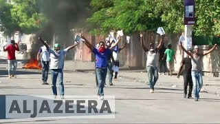 New tax hikes ignites violent street protests in Haiti - ALJAZEERAENGLISH