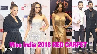 Femina Miss India 2018 RED CARPET | Stunning Judges Panel Steal The show - BOLLYWOODCOUNTRY