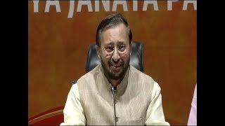Prakash Javadekar hits back at Congress over Rahul Gandhi's 'Muslim party' remark - INDIATV
