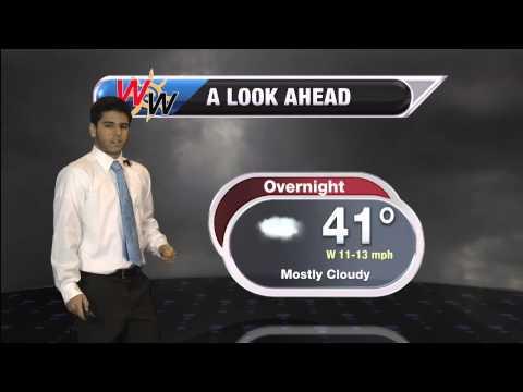 Wednesday, December 17th Evening Forecast