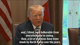 Trump: North Korea's Kim 'Very Honorable' - VOAVIDEO