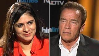In conversation with Arnold Schwarzenegger - NDTV