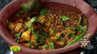 Suvaiyo Suvai 08-08-2017 – Jaya tv Cookery Show-Preparation Of Kathirikai Karunaikilangu Mangai Karamani Thokkku & Fried Egg Masala