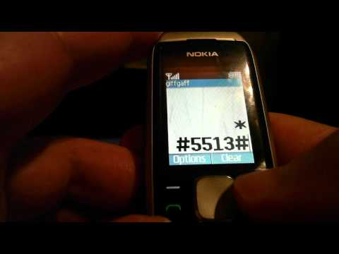 Nokia 100/1600/1800 (+more models) rotate screen code trick